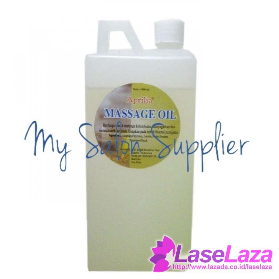 Harga aprilia massage oil 1000ml 1 ltr paket perawatan dan perlengkapan mandi | HARGALOKA.COM