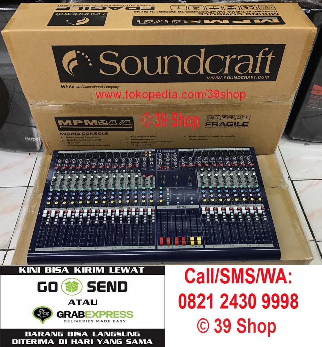 Mixer Audio SOUNDCRAFT MPM 24/4 (24 Channel) Grade A Sound Mixer