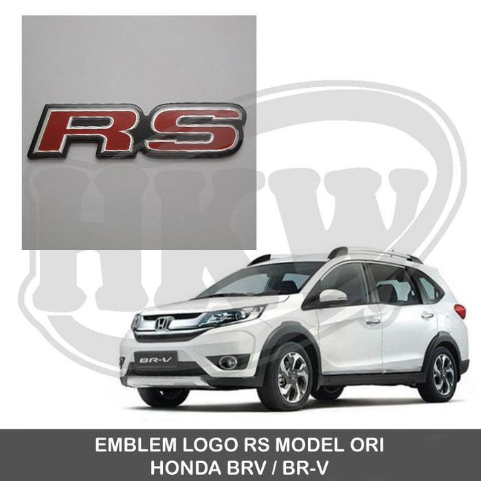 Rp 82500 EMBLEM LOGO RS MOBIL HONDA