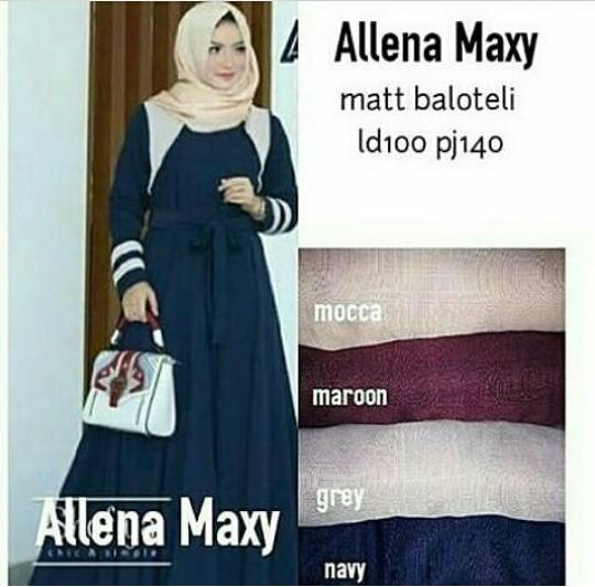 Allena Maxy - Maroon
