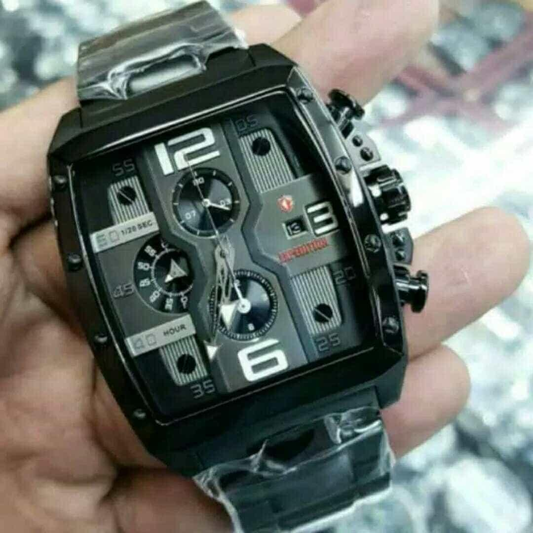 Harga Jual Jam Tangan Couple Original Expedition E6606 Black Pria 6721 Merah E6636 Font White