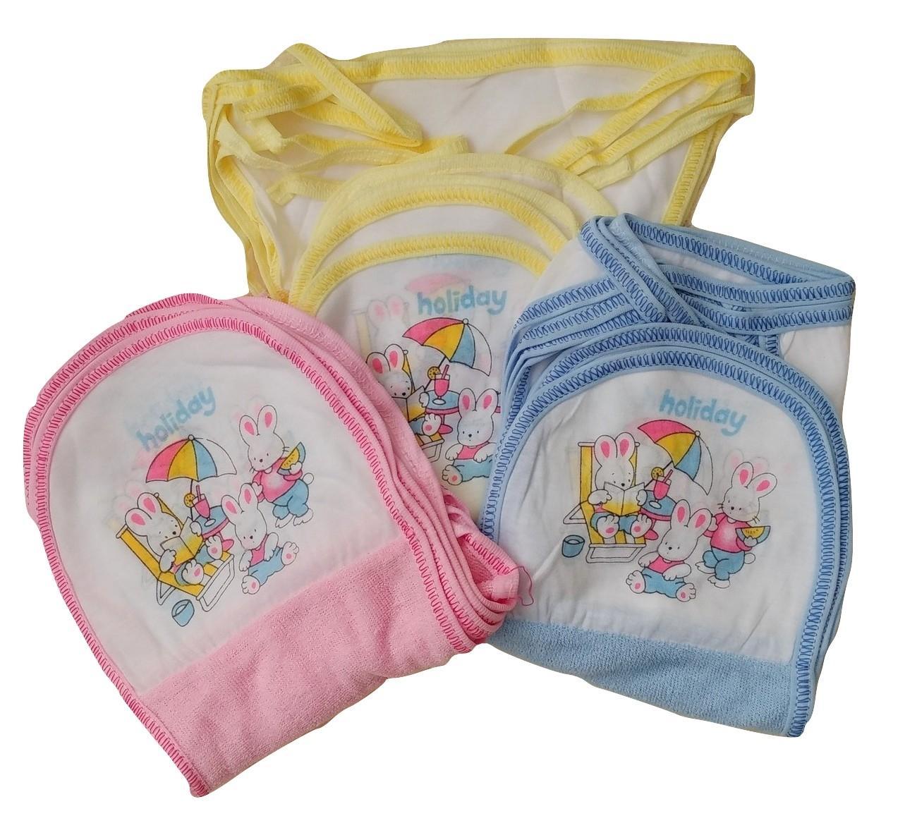Jelova Angela Selusin Popok Baby Bayi HOLIDAY-Handuk Quality - SNI Standart - 12pcs Mixcolour