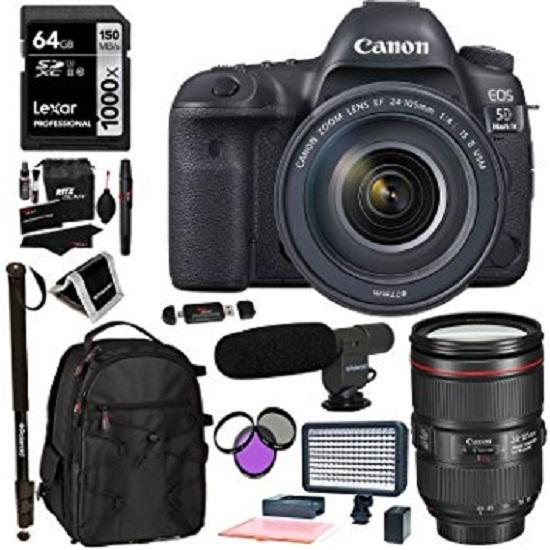 Canon EOS 5D Mark III Kit 24-105mm Kamera DSLR - Black Garansi Resmi 1 Tahun