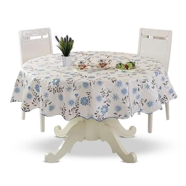 Gambar Produk Pedesaan hijau besar giok meja makan kain katun kanvas menebaltaplak meja . Source ·