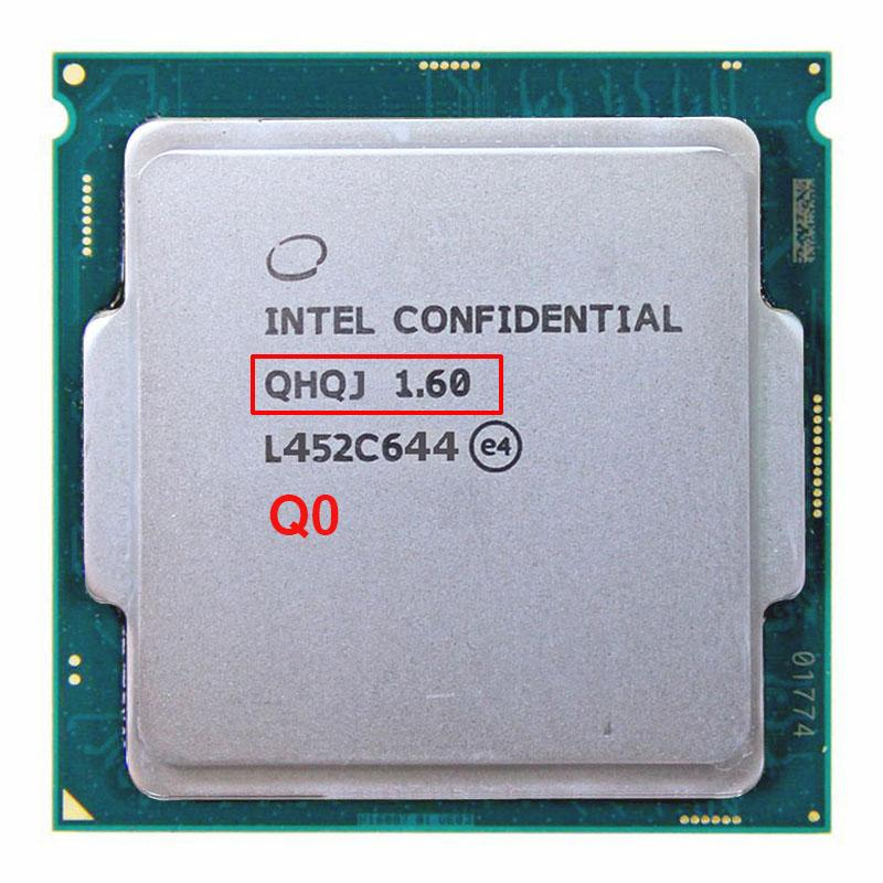 Engineering Version Of INTEL I7 PROCESSOR ES QHQJ 16 GHZ AS QHVX QHQG Intel Skylake CPU