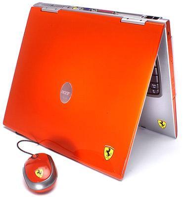 laptop acer ferrari