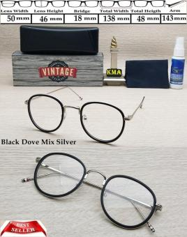 Pencari Harga Frame kacamata minus VINTAGE kacamata minus frame korea vintage bulat terbaik murah - Hanya Rp125.484