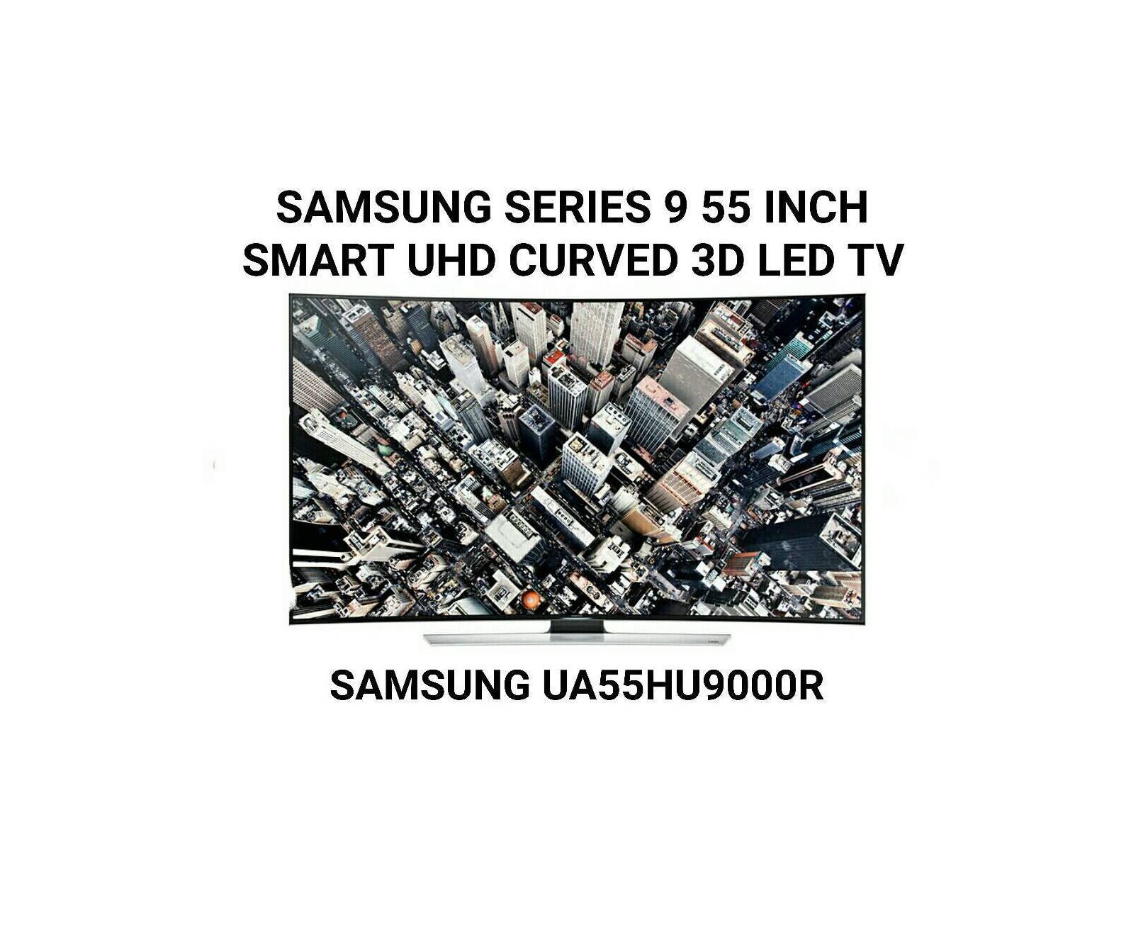 Samsung UA55HU 9000 Series 55 Inch Smart UHD Curved 3D LED TV