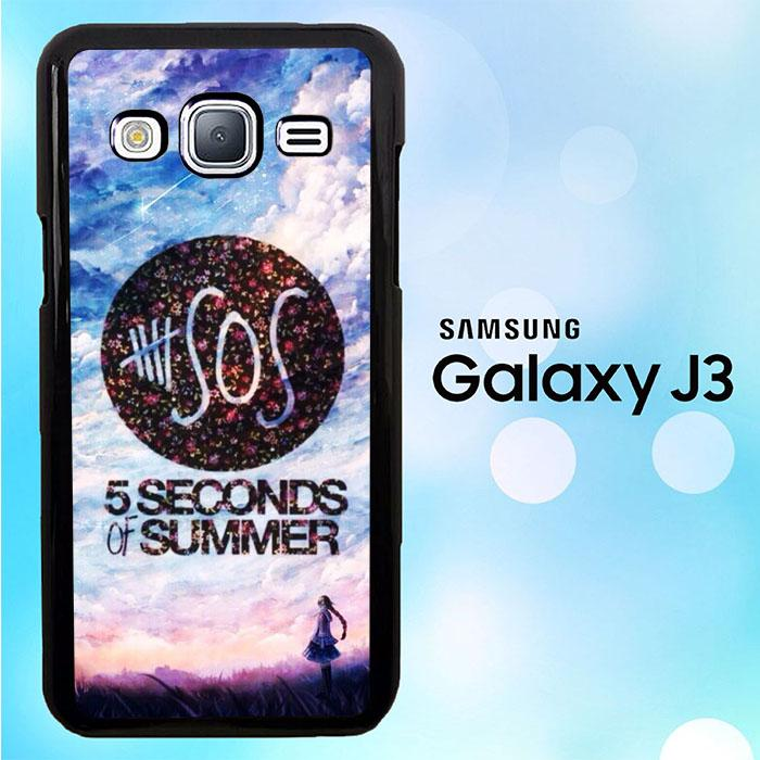5 Second of Summer Logo O3424 Samsung Galaxy J3 2015