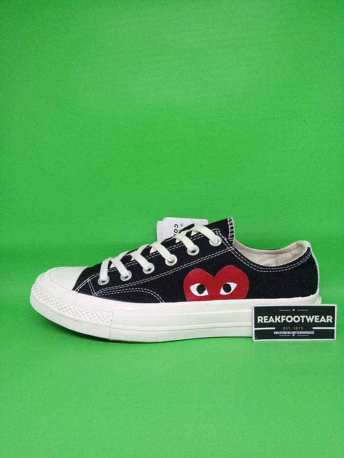 CONVERSE ALL STAR CHUCK TAYLOR 70S OX X CDG LOW (FOTO ASLI)