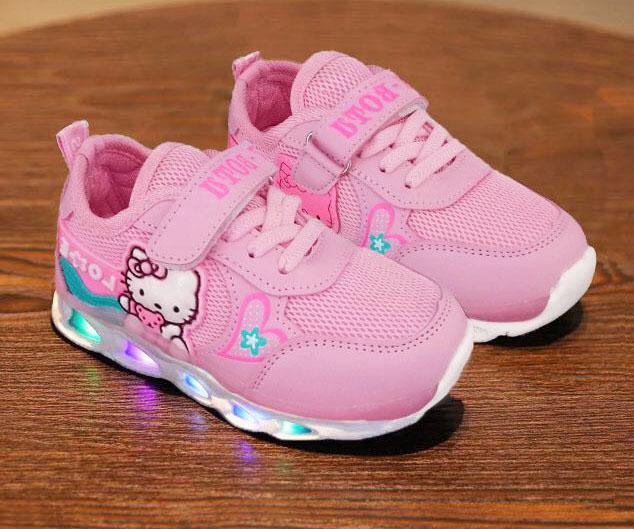Sepatu Lampu Anak Sepatu Anak Lampu Import Sepatu LED Anak Import Sepatu Anak Kartun Lucu