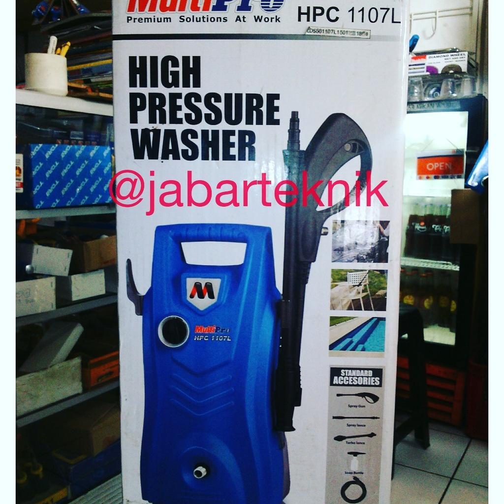 Multipro Mesin Pencuci Tekanan Tinggi Jet Cleaner Listrik Hpc 1309 L High Pressure Bosch Ghp 5 55 Cuci Mobil 1107l Xtra Gun