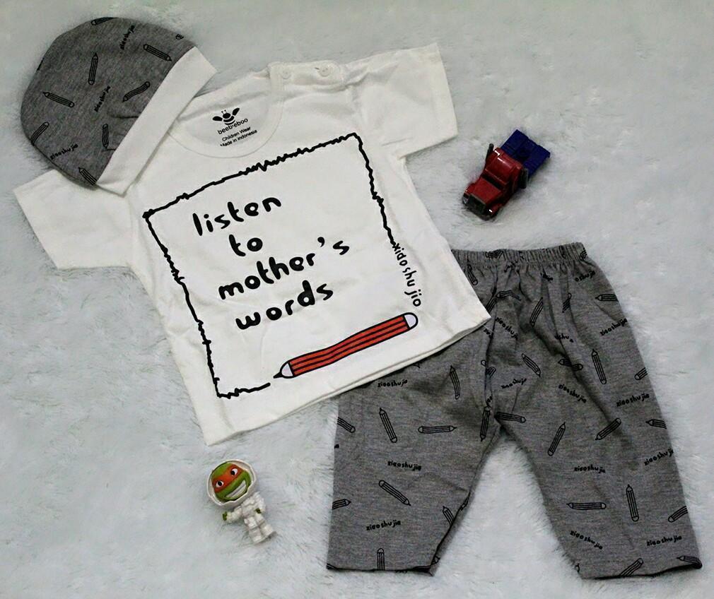 ... Setelan Baju Celana Bayi Anak - I`m The BossIDR47000. Rp 47.000
