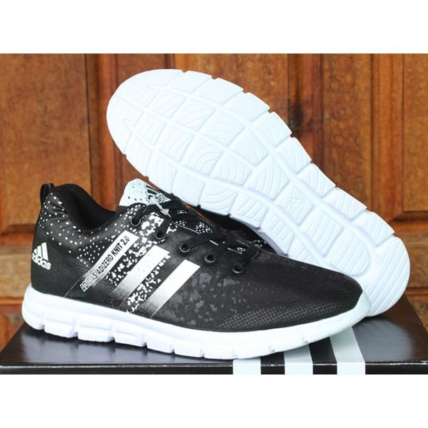 Promo Adidas Adizero Knit 2.0 Hitam / Sport / Casual / Kets / Olahraga Gratis Ongkir