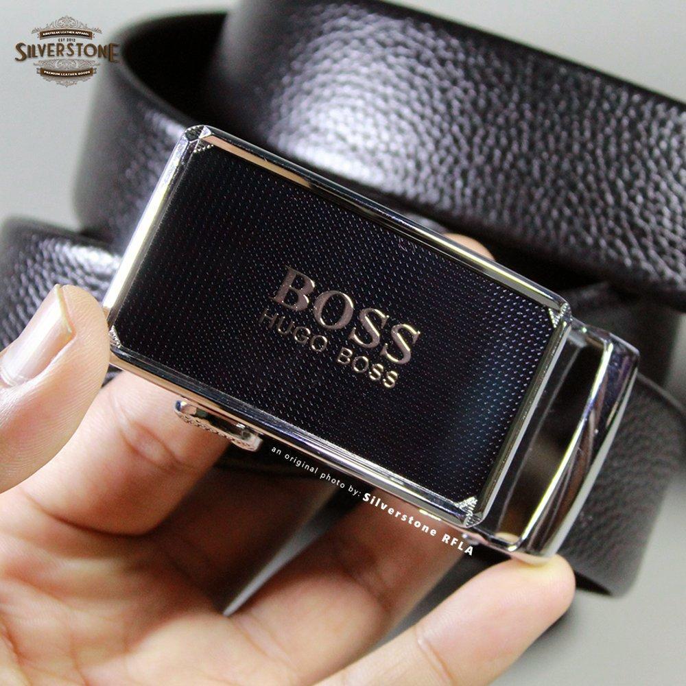 Ikat Pinggang Pria Kulit Premium Hugo Boss