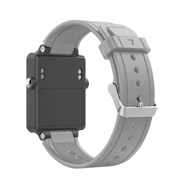 Best Seller!! Strap Garmin Vivoactive Watch Band Replacement Tali Jam - Abu Abu - ready stock