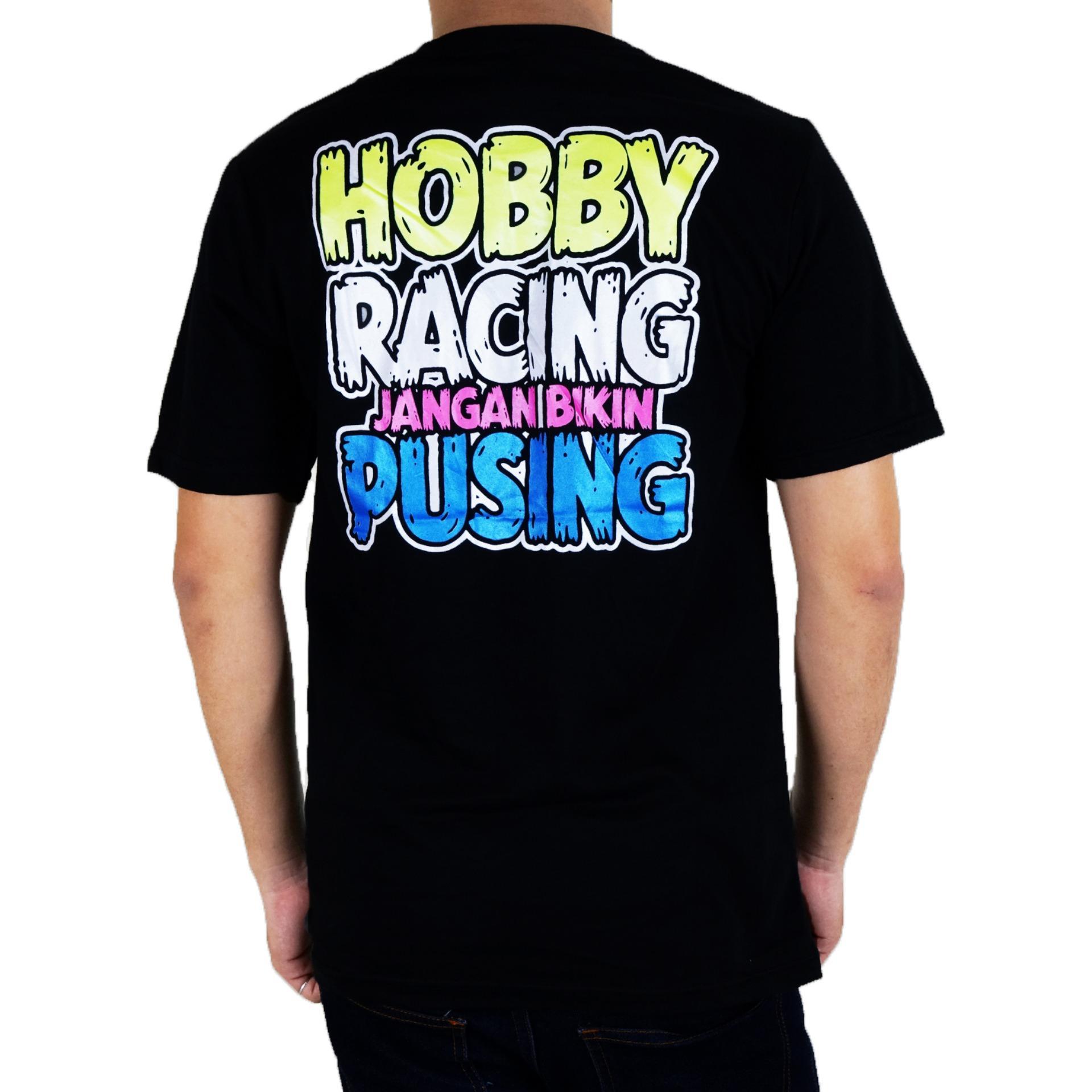 Detail Gambar Vanwin - Kaos T-Shirt Distro / kaos Pria / Tshirt Pria / Distro Pria / Baju Pria Premium Racing Tukang Gaspoll - Hitam Terbaru