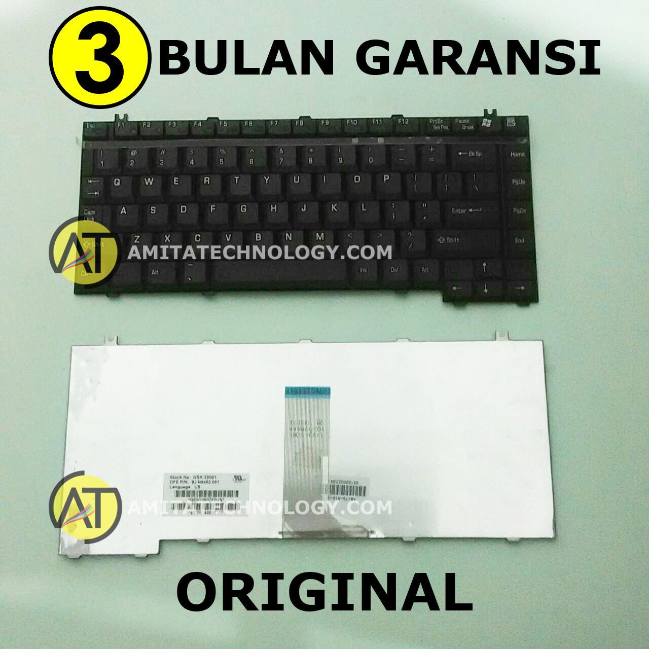 Keyboard Laptop ORIGINAL Toshiba Satellite A100 A105 A110 A130 A135