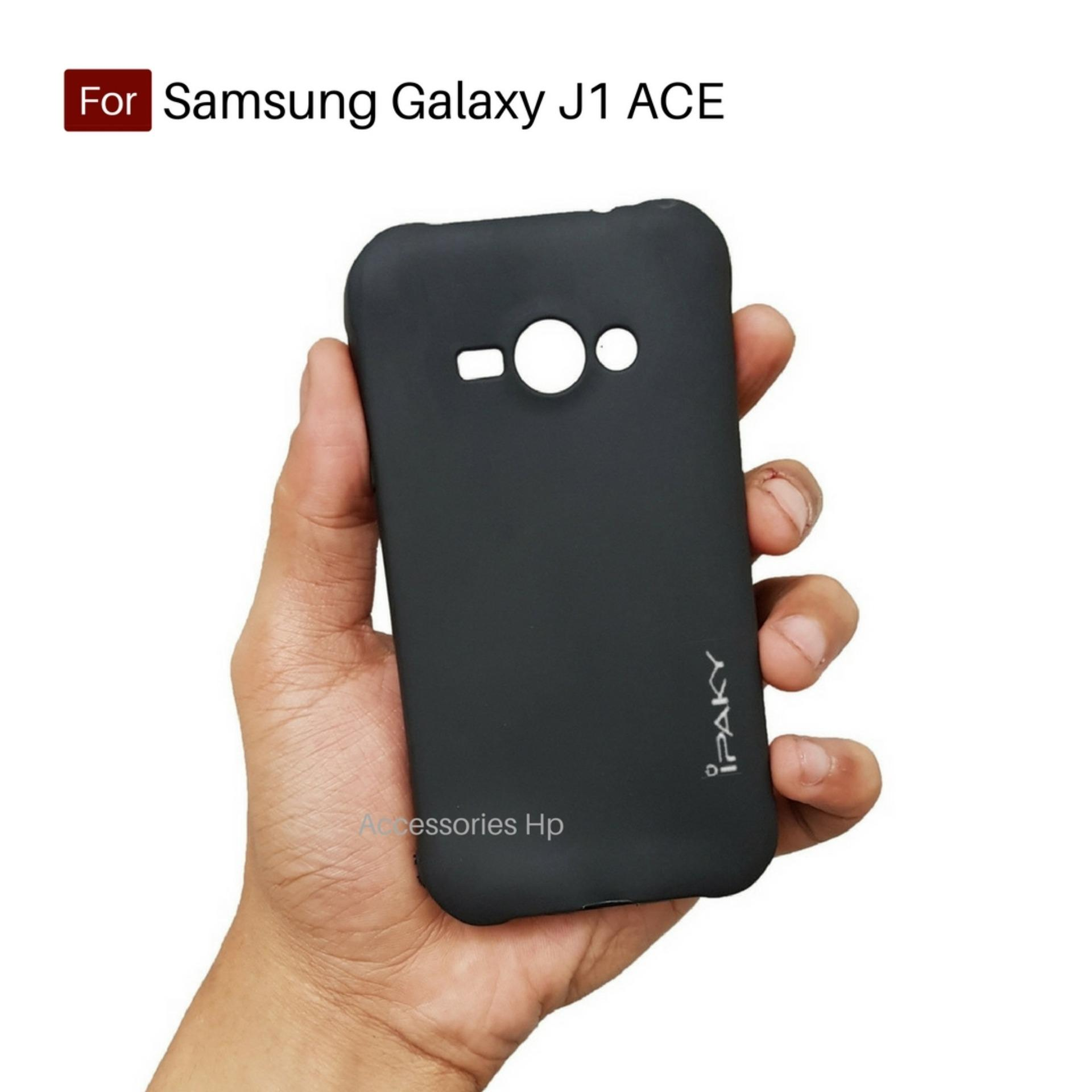 Accessories Hp iPaky Super Slim Matte Anti Fingerprint Hybrid Case For Samsung Galaxy J1 Ace - Black