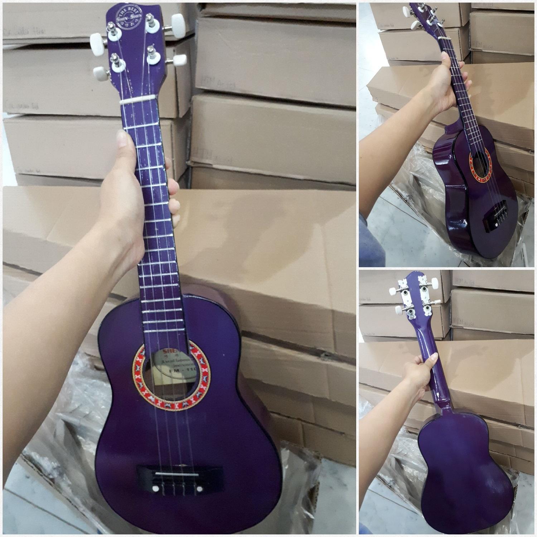 Fitur Gitar Ukulele Kentrung 4 Senar Nylon Premium Quality Merk Warna Cowboy Fox Promo Akustik Import Gratis Pick Murah