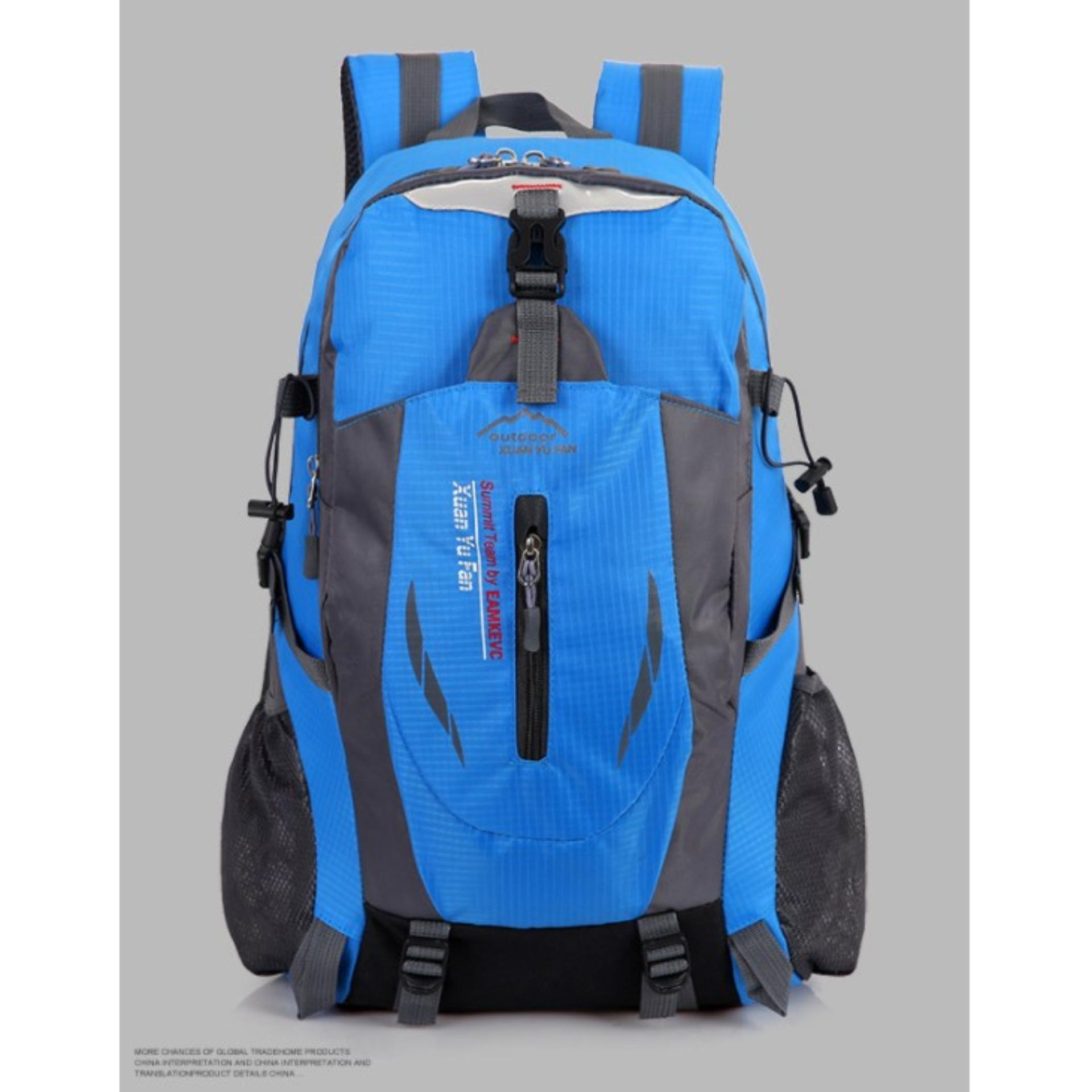 Unique Tas Ransel Backpack Hiking Outdoor Camping Knight Blue Free Adda Home Untuk