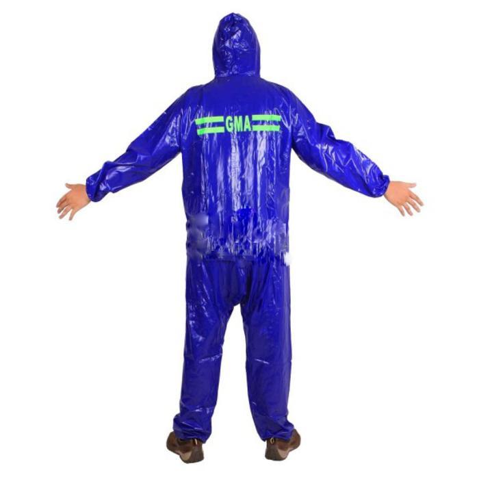 Jas Hujan Karet PCV Original GMA Raincoat yang melegenda, murah & kuat