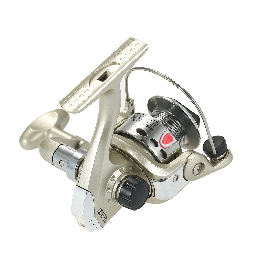 This ultra light spinning fishing reel with high-tensile gear would provide you a pleasant fishing experience.