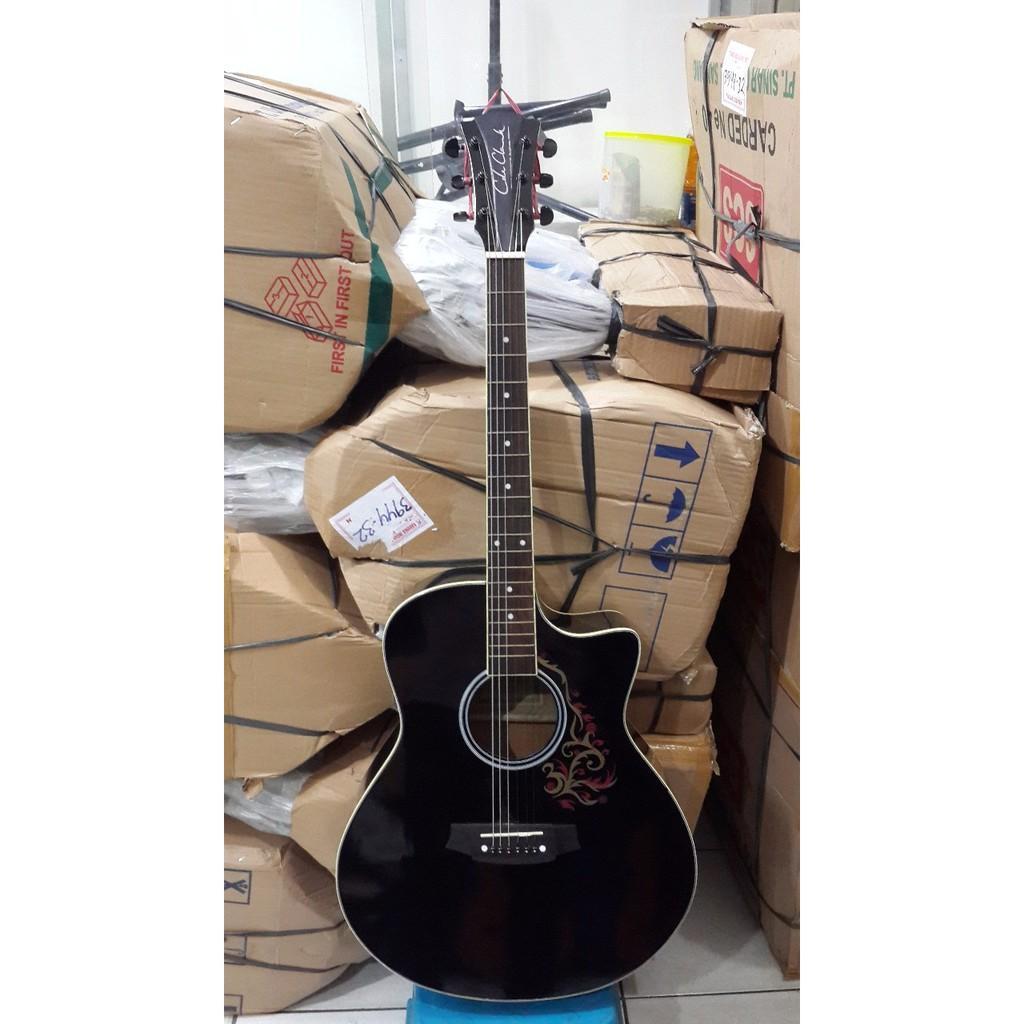 Gitar Akustik Cole Clark Hitam Jakarta Murah Garansi