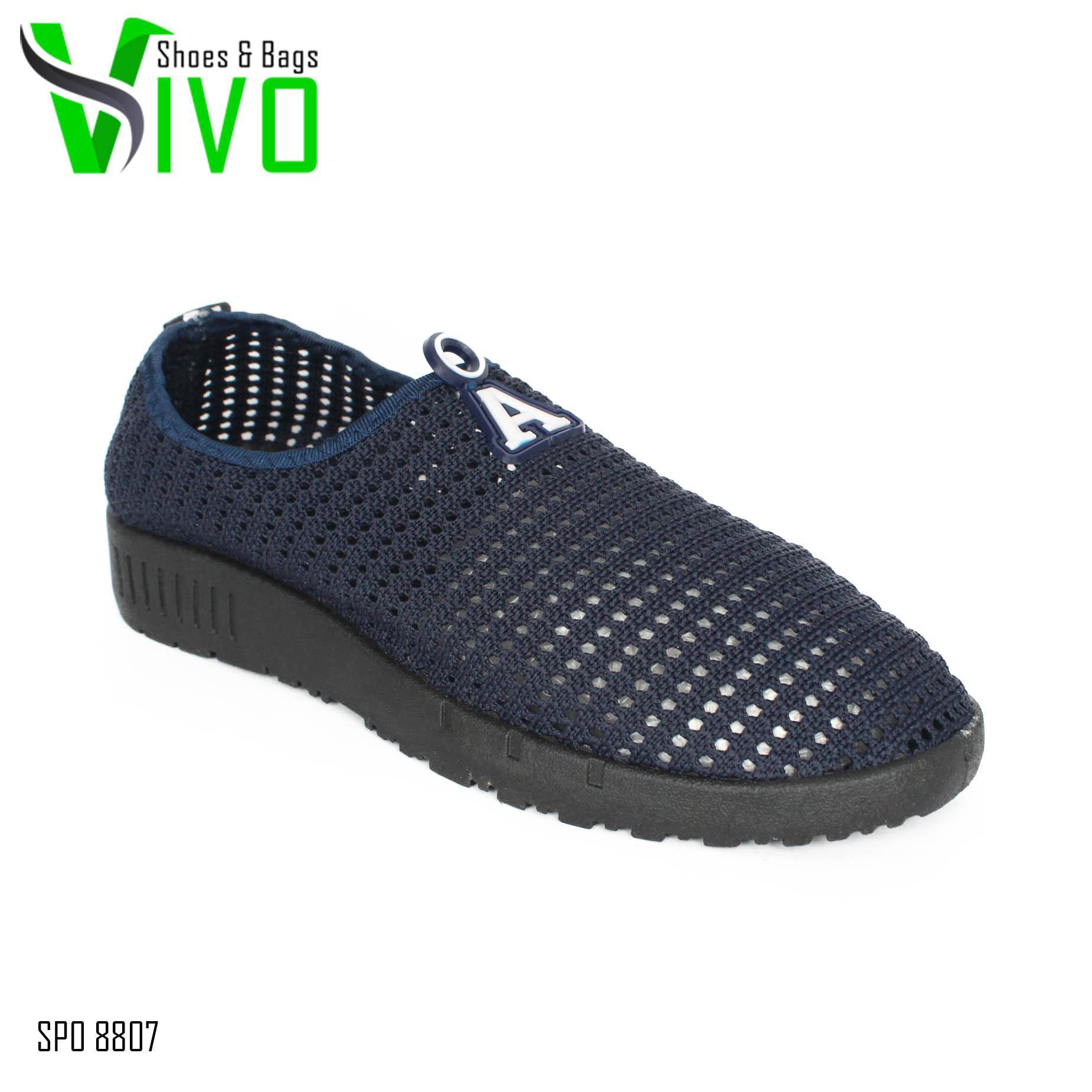Vivo Fashion Sepatu Casual Pria/Sepatu Slip On Pria/Sepatu Sneakers Pria SP08807 -
