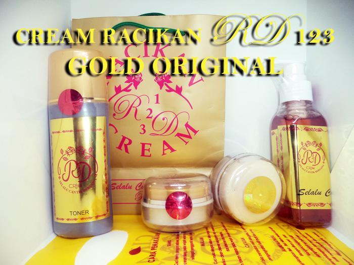 paket TONER cream RD 123 gold / cream RD gold paket TONER PLASTIK