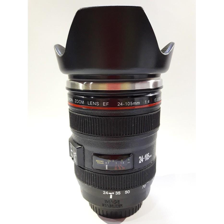 Gelas Mug Replika Lensa Kamera Canon Ef 24-105Mm Tutup Kembang - A70jrl