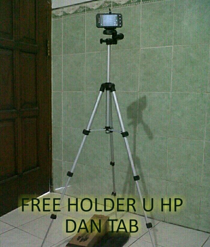 Tripod untuk hp,kamera dan dslr weifeng 3110A