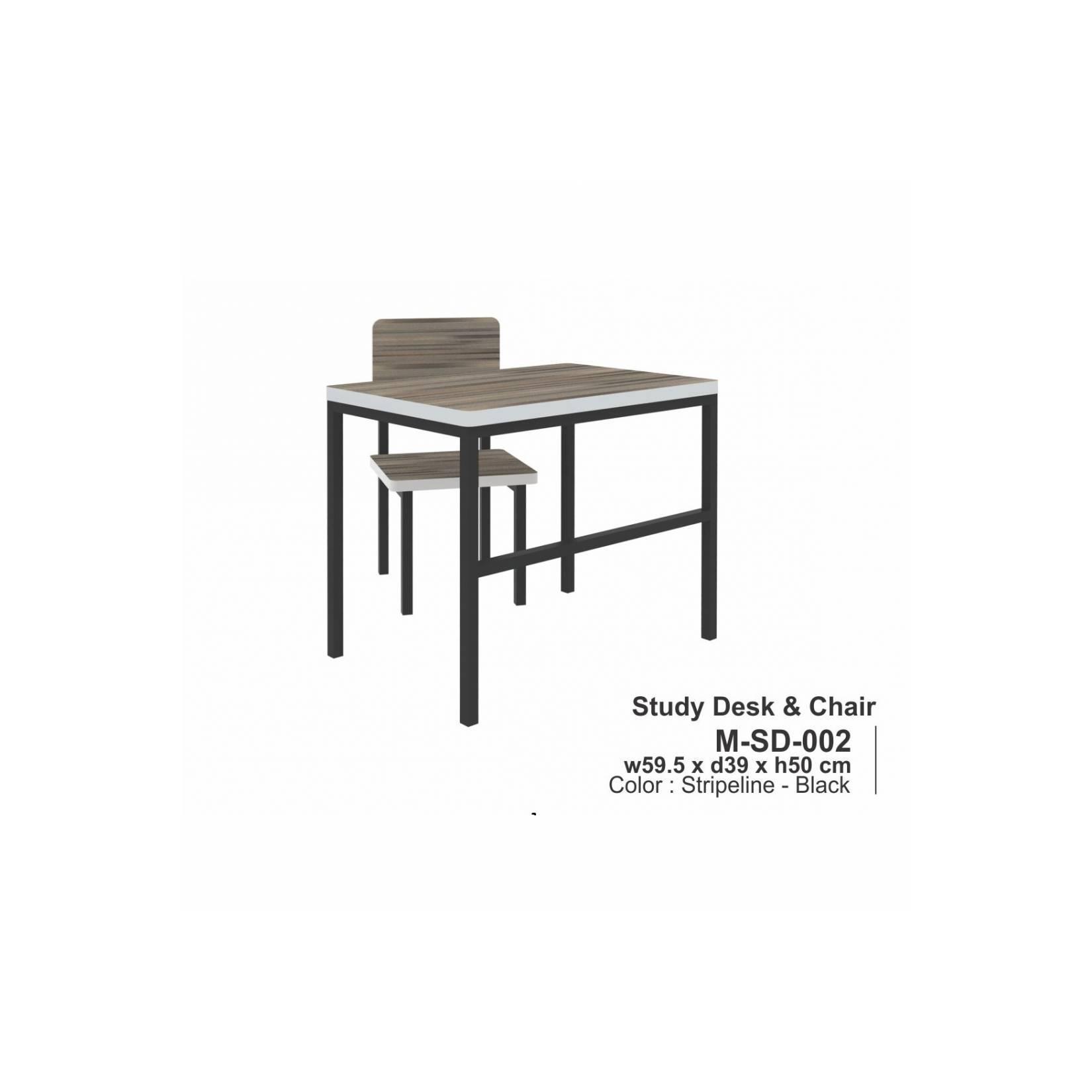 Meja dan Kursi Belajar Anak MSD 002