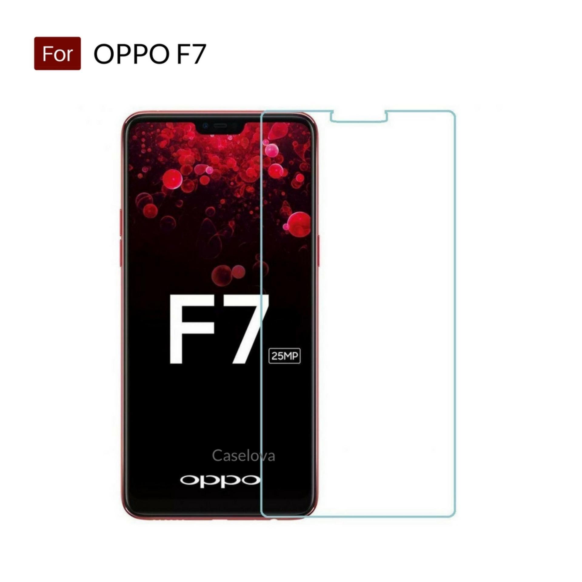 Cek Harga Baru Tempered Glass Oppo F7 Screen Protector Anti Gores Temperred Kaca Clear