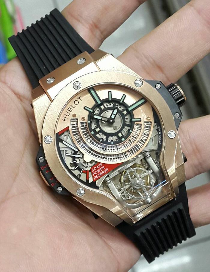 Promo!!!!Jam Tangan Pria Hublot Bigbang MP-9 Automatic Swiss