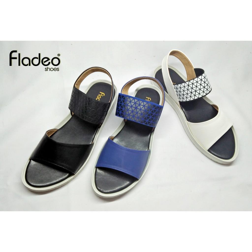 New Fladeo Sandal wanita / LDT200-1RA-BLK-BLU-WHT