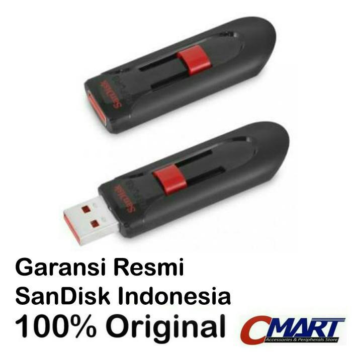 SanDisk Cruzer Glide 32GB USB 2.0 Flashdisk Flasdisk Flash Disk Flas Disk