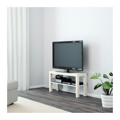 Rak Meja TV Multifungsi Ikea Lack White
