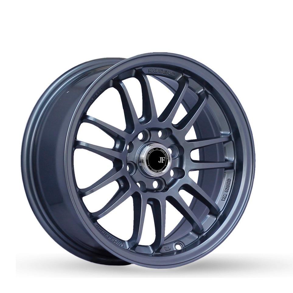 Paket JF Luxury RE-30 Ring 16X7.0 PCD 8X100/114.3 Velg Mobil + Ban Acc PHI R [GRATIS INSTALASI]