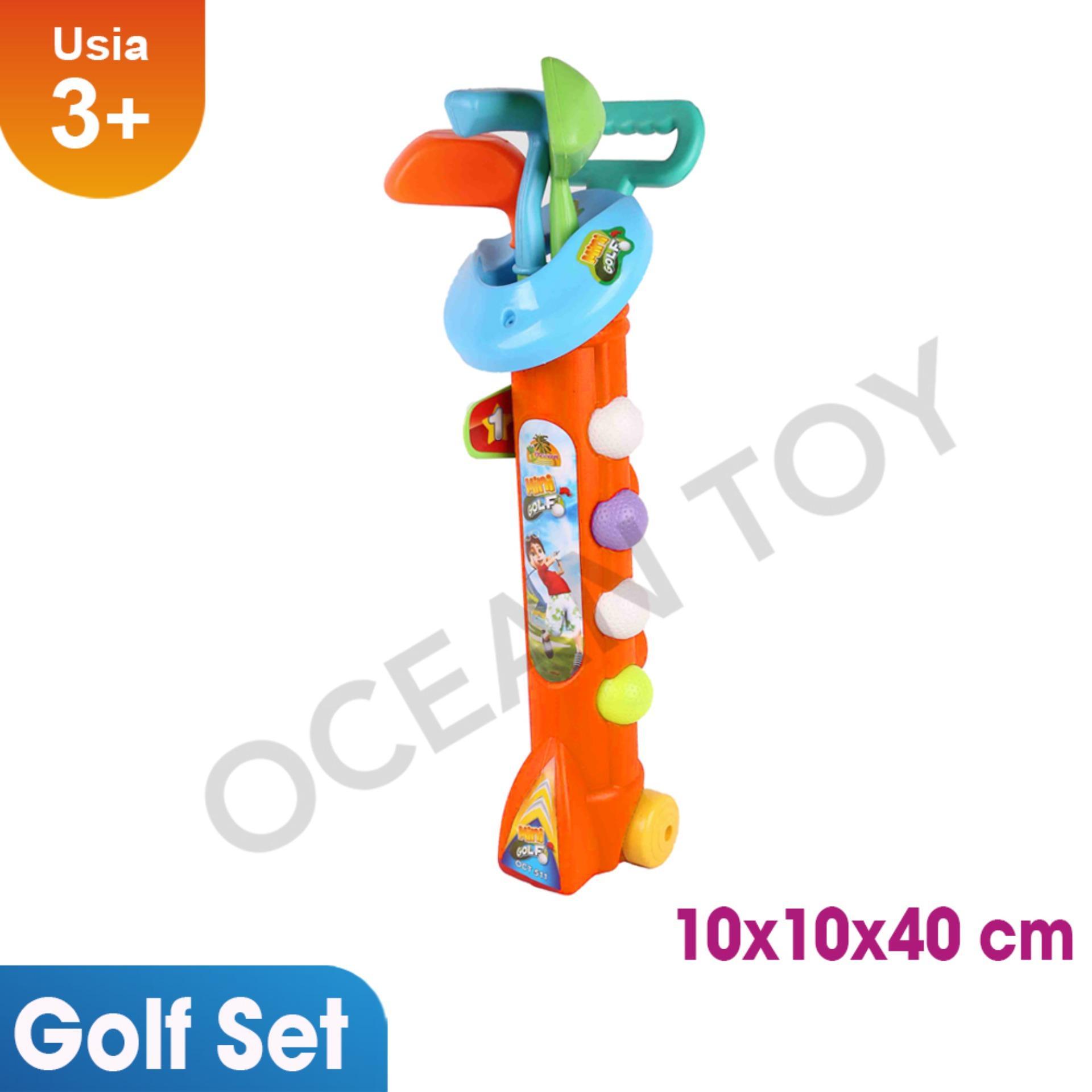 Ocean Toy Golf Set Jaring Mainan Edukasi Anak - OCT511 - Orange