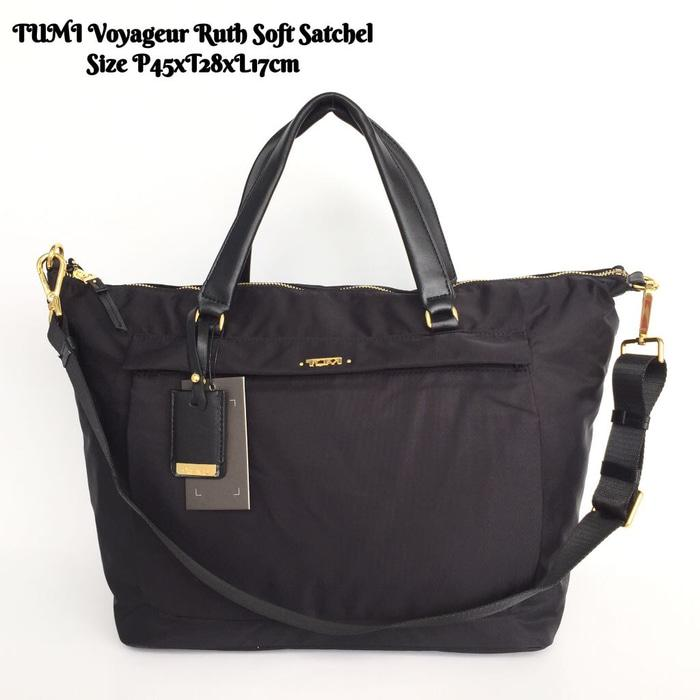 TUMI Voyageur Ruth Soft Satchel Tas Hand Bag Original Ori Murah - uhzvto