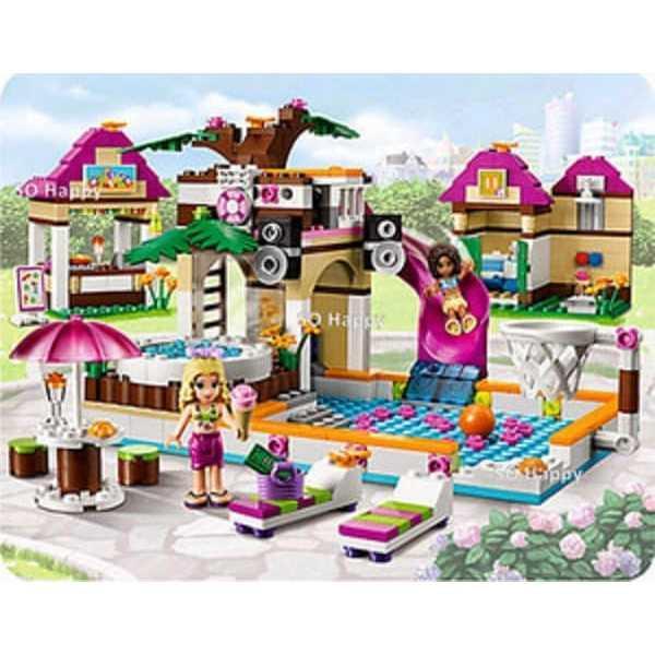 BELA FRIENDS SERI 10160 ISI 422 PCS - MAINAN EDUKASI LEGO