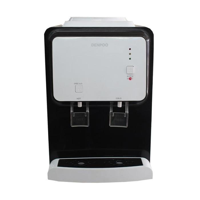 DENPOO XAVIER 2 Dispenser 2 Kran Hot & Fresh Hemat Listrik 190 - UNGU