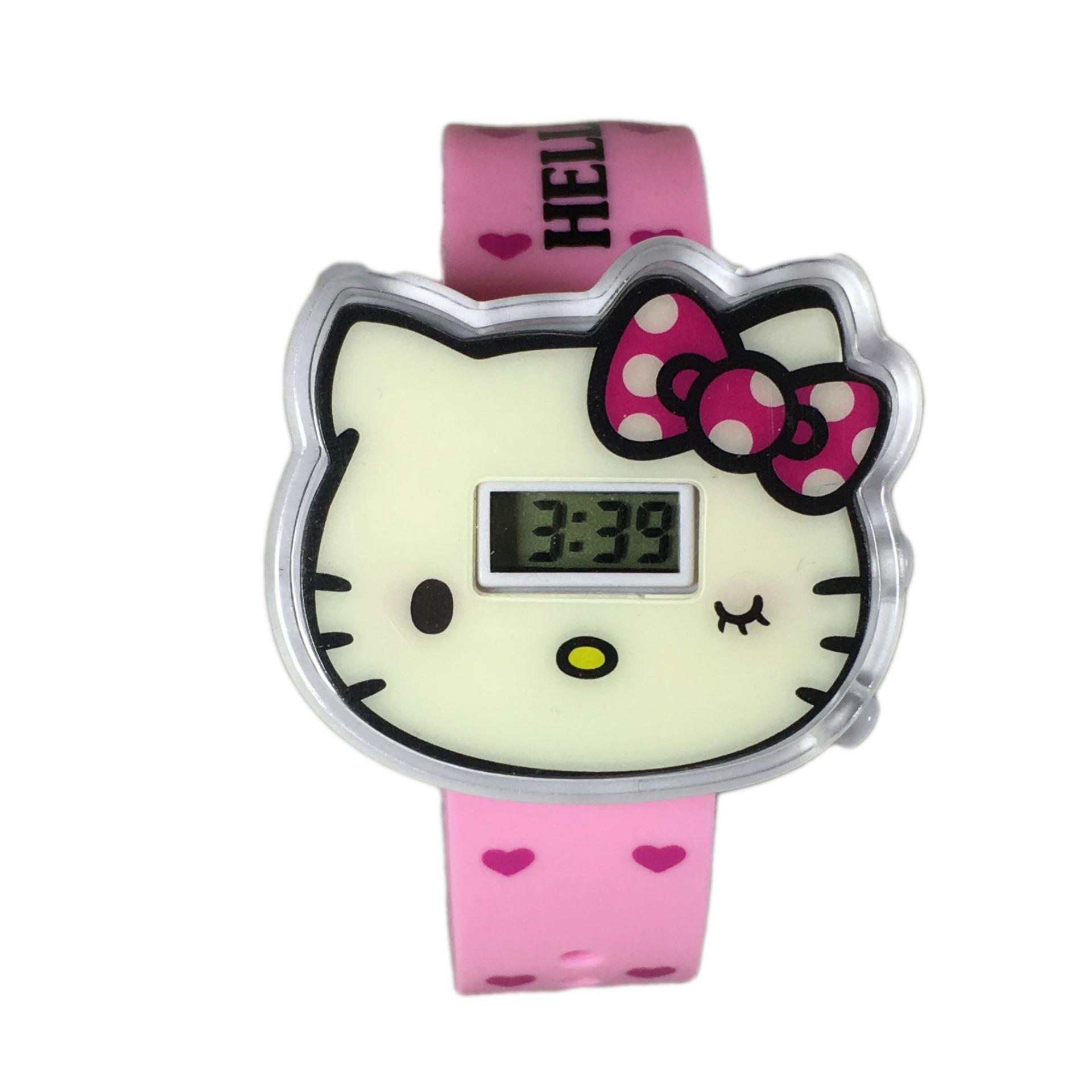 Kehebatan Dnb Collection Jam Tangan Digital Robot Cars Dan Harga Anak Thomas Cover Hello Kitty Light Pink