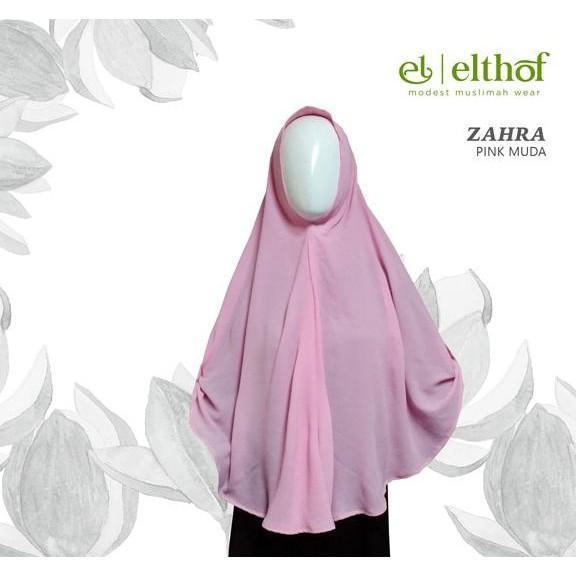 Zahra Seri 1 By Elthof- Kerudung Syar I Jilbab Bergo  Ghtpoef
