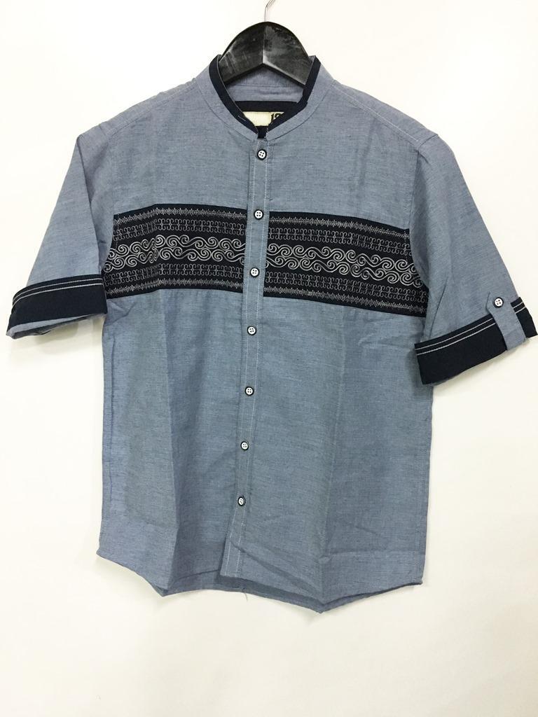 Cotton Inch Kids - Fadhly  Baju Koko Anak  Pakaian Muslim Anak Laki - Laki 1-3 Tahun