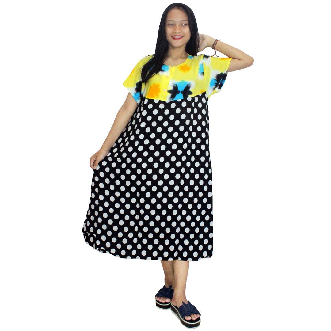 Daster Payung Batik Print Dpt005 24d Daftar Update Harga Terbaru 14 Klok Baju Tidur Piyama Kancing Bumil