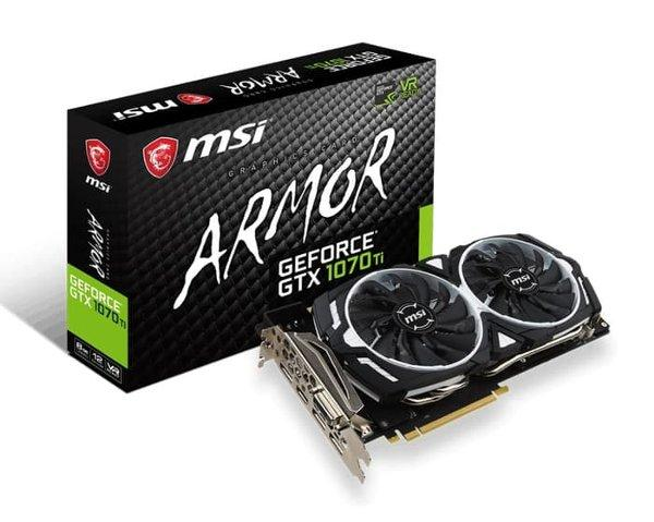 MSI GeForce GTX 1070 Ti 8GB DDR5 - Armor 8G