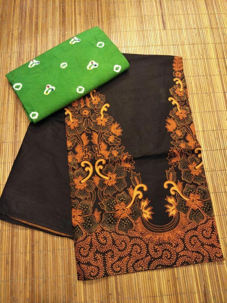 batik kombinasi tumpal+jumputan (jarik solo)