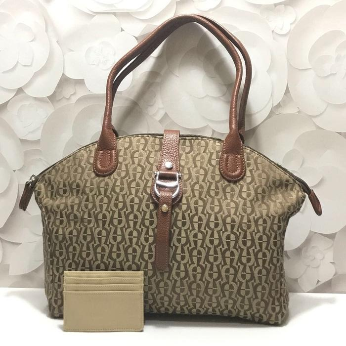 TAS AIGNER ORIGINAL - AIGNER PICCOLINA MEDIUM BROWN